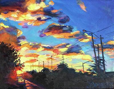 Painting - Sunward by Bonnie Lambert