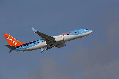 Sunwing Airlines Art Print