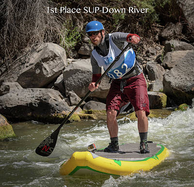 Photograph - Sup 1st Place 2018 by Britt Runyon