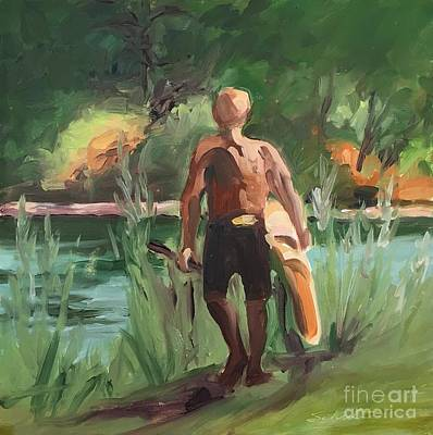 Painting - Sup Before Supper by Lynne Schulte