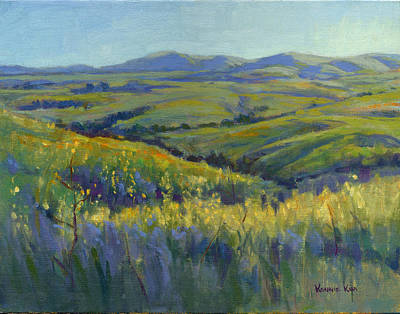 Painting - Super Bloom 3 by Konnie Kim