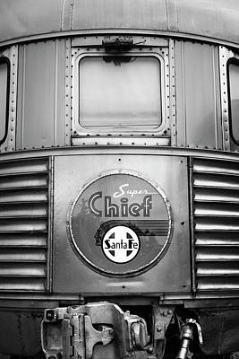 Photograph - Super Chief by John Warren