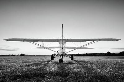 Photograph - Super Cub Daybreak by Chris Buff
