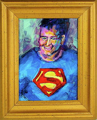 Painting - Super George by Les Leffingwell