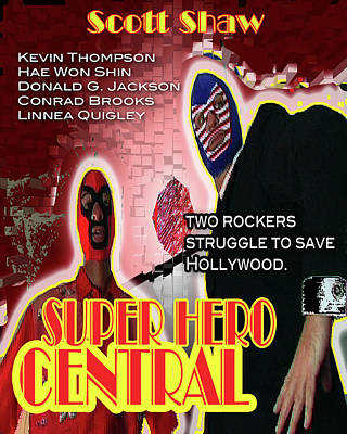 Photograph - Super Hero Central by The Scott Shaw Poster Gallery