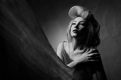 Face Wall Art - Photograph - Super Lady by Amin Hamidnezhad