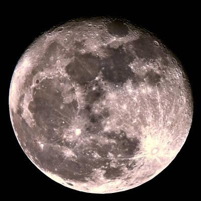 Photograph - Super Moon 2016 by Michael Gordon
