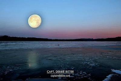 Photograph - Super Moon 2949 by Captain Debbie Ritter