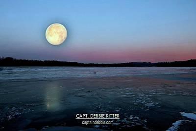 Photograph - Super Moon 2949 by Captain Debbie Ritter