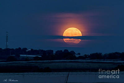 Photograph - Super Moon by Arik Baltinester