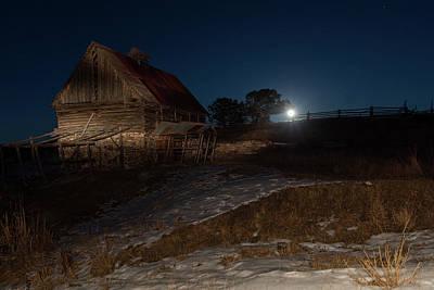 Photograph - Super Moon Arising  by Jaquita Watters