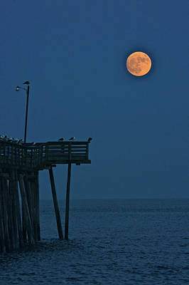 Photograph - Super Moon Contre Nuit by Don Mercer