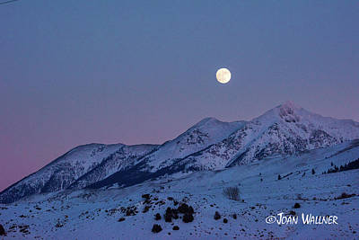 Photograph - Super Moon by Joan Wallner