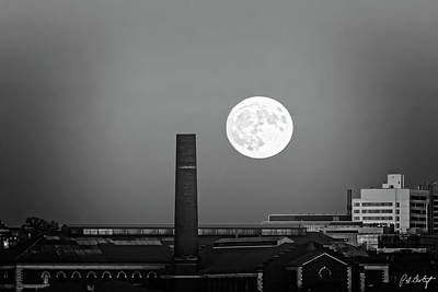 Super Moon Over Buffalo Original by Phill Doherty