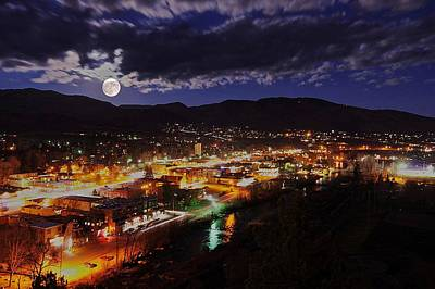 Photograph - Super-moon Over Steamboat by Matt Helm
