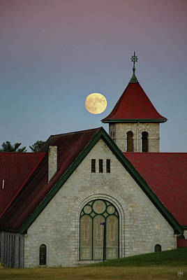 Photograph - Super Moon Rising by John Meader