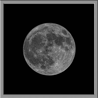 Mark Myhaver Rights Managed Images - Super Moon s58 Royalty-Free Image by Mark Myhaver