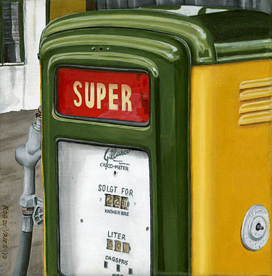 Painting - Super by Rob De Vries