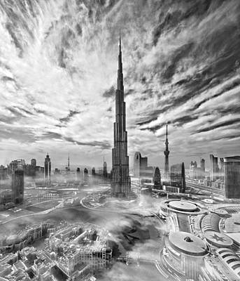 Dubai Photograph - Super Skyline by Koji Tajima