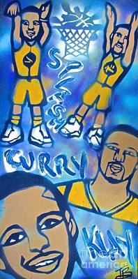 Berkeley Painting - Super Splash Brothers by Tony B Conscious