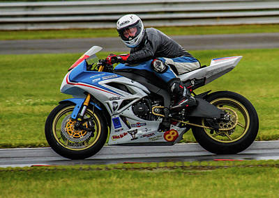 Two Wheeler Photograph - Super Sport Rider by Ed James