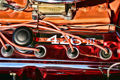 Super Stock Ss 426 IIi Hemi Motor Print by Gordon Dean II