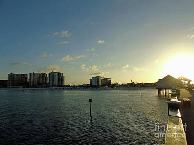 Photograph - Super Sunrise At Pier 60 by D Hackett