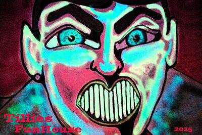 Tillie Painting - Super Tillie by Patricia Arroyo