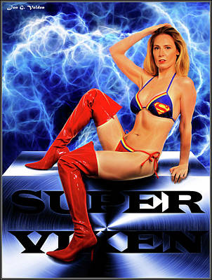 Photograph - Super Vixen by Jon Volden