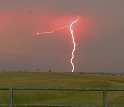 Photograph - Superbolt On The Prairie by Michael Oceanofwisdom Bidwell