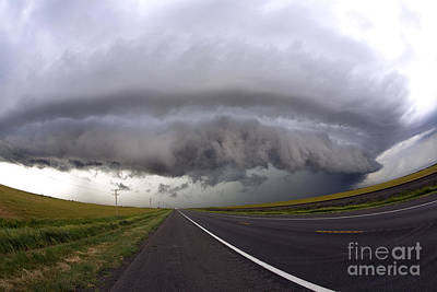Photograph - Supercell by Jim Edds