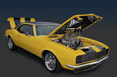 Photograph - Supercharged 67 by Bill Dutting