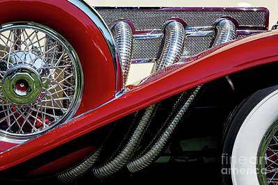 Photograph - Supercharged Duesenberg by Dennis Hedberg