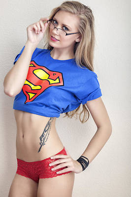 Photograph - #supergirl #kim by ItzKirb Photography