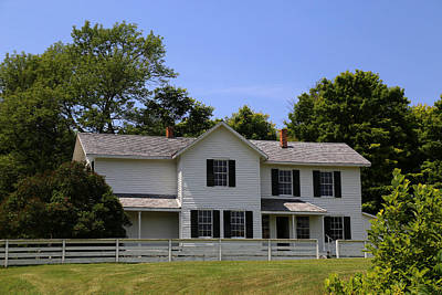 Photograph - Superintendent's House 2 by Mary Bedy