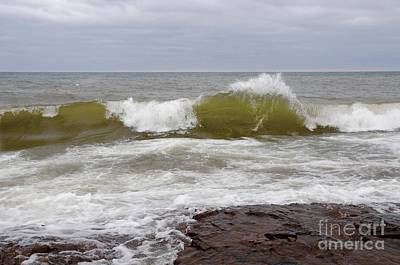 Photograph - Superior April Waves by Sandra Updyke