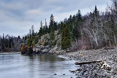 Photograph - Superior Cliffs by Larry Ricker
