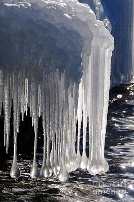 Photograph - Superior Ice Drops by Sandra Updyke