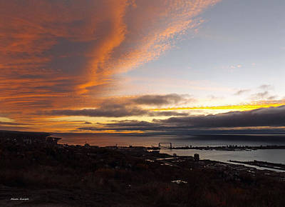 Duluth Photograph - Superior Painting by Alison Gimpel