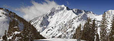 Photograph - Superior Peak Wasatch Mountains Utah Panorama by Utah Images
