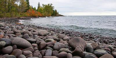 Photograph - Superior Rocks by Steve Stuller