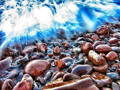 Fury Photograph - Superior Shore  by Scott Wendt Tom Wierciak