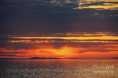 Photograph - Superior Sky At Sunrise by Sandra Updyke