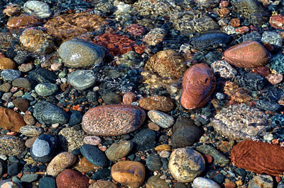 Photograph - Superior Stones by Debby Richards