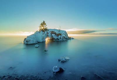Portage Photograph - Superior Sunrise // North Shore, Lake Superior  by Nicholas Parker