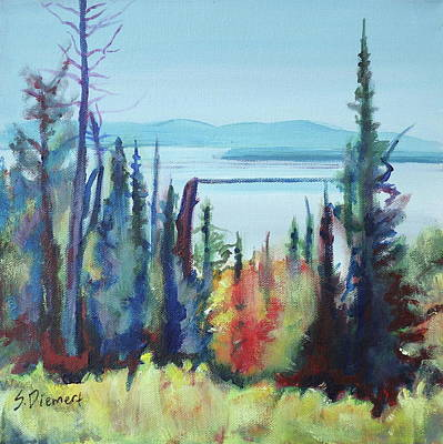 Painting - Superior View - 001 Of Celebrate Canada 150 by Sheila Diemert