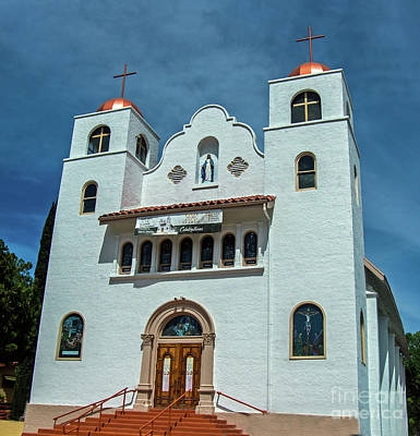 Photograph - Superior's Catholic Church by Stephen Whalen