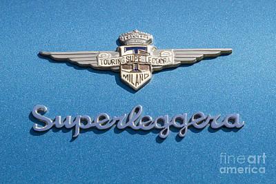 Photograph - Superleggera by Dennis Hedberg