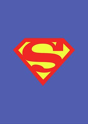 Famous Book Digital Art - Superman by Caio Caldas