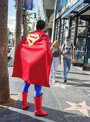 Photograph - Superman Waiting by Cheryl Del Toro